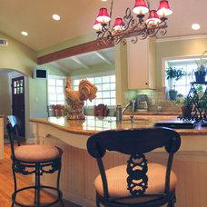 Traditional Kitchen by Barbara Stock Interior Design