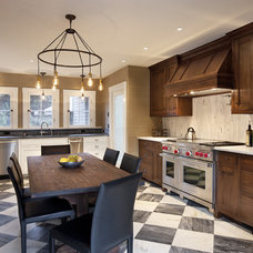 Traditional Kitchen by Becker Studios