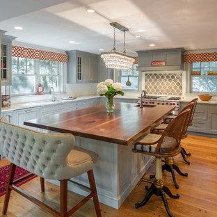 Traditional Bronxville Custom Wood Kitchen