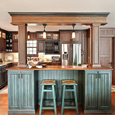 Rustic Kitchen by Kitchen Choreography