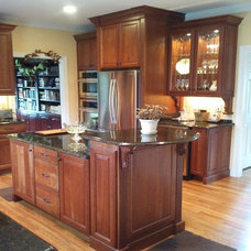 Traditional Kitchen by Linda Berg Designs
