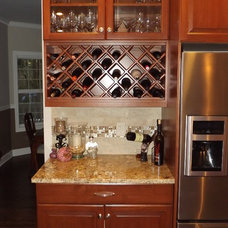 traditional kitchen by Tony's Custom Cabinets