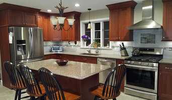 Traditional Cherry Kitchen Transitions with Modern Style