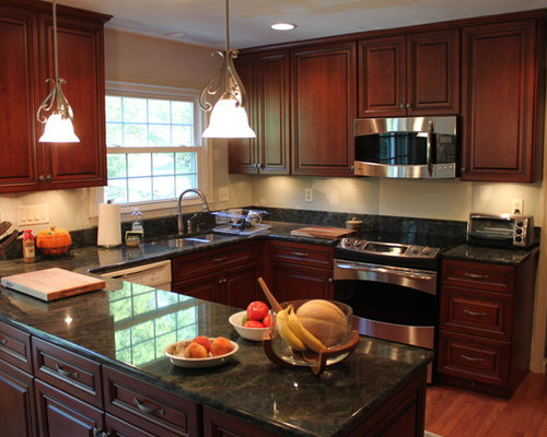 Hawaiian Green Granite Home Design Ideas, Pictures, Remodel and Decor