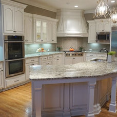 Transitional Kitchen by Beauti-Faux Finishes