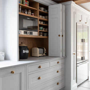 Traditional Country Hand Painted Framed Kitchen