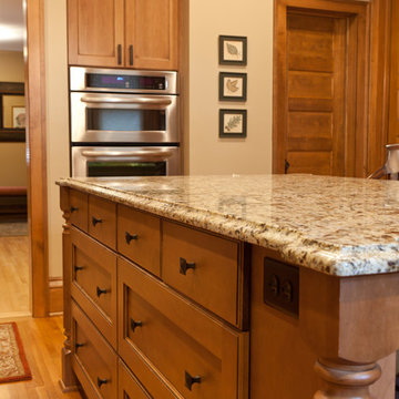 Traditional Cozy Kitchen In 100 Year Old Home - Roseville MN