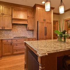 traditional kitchen by White Crane Construction