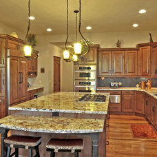 Traditional Kitchen by Stone Aspen Signature Builders