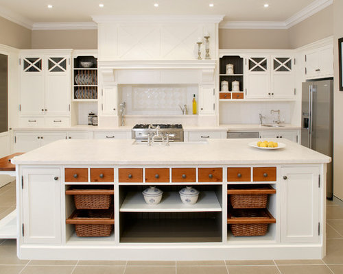 Country style kitchen home design ideas renovations photos for Country themed kitchen ideas