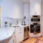 Kitchen with custom arch - Traditional - Kitchen ...