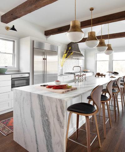 Contemporary Kitchen by Merit Kitchens, MK Designs