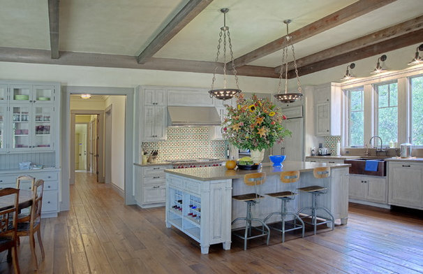 Traditional Kitchen by Polsky Perlstein Architects