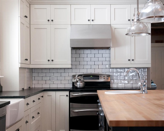 mini subway tile kitchen backsplash mini subway tile backsplash houzz 9174