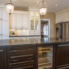 Traditional Kitchen by P.M. Interiors