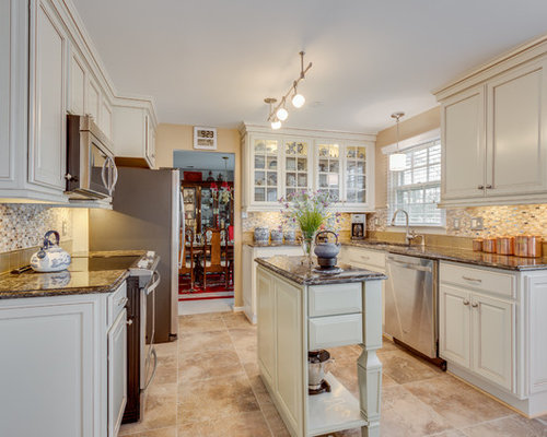 Traditional French Country Kitchen Remodel Springfield VA