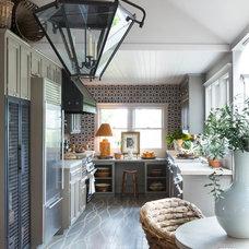 Farmhouse Kitchen by Catherine Macfee Interior Design