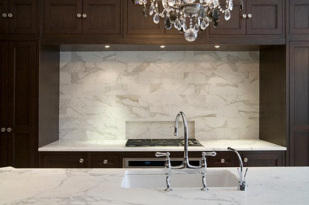Traditional Kitchen by Toronto Interior Design Group | Yanic Simard