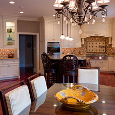 Traditional Kitchen by CANDICE ADLER DESIGN LLC