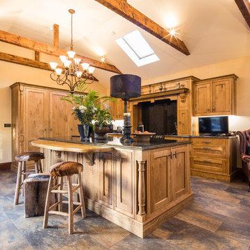 Traditional Inframe Kitchen, Barnsley