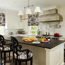 Traditional Kitchen by Katherine Shenaman Interiors