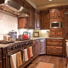 traditional kitchen by Alder and Tweed