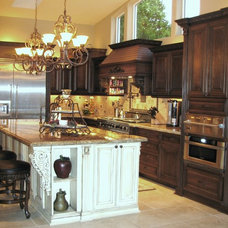 Traditional Kitchen by Allure Designs