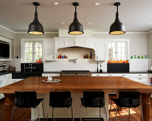 kitchen with white cabinets design ideas remodel pictures houzz - Remodeled Kitchens With White Cabinets