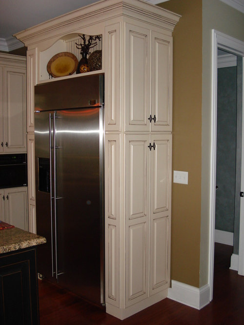 Pantry Beside Refrigerator Home Design Ideas, Pictures, Remodel and Decor