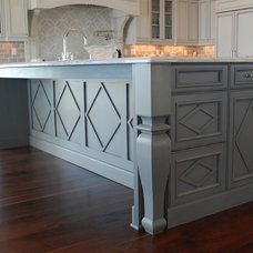 Traditional Kitchen by Amy Tyndall Design