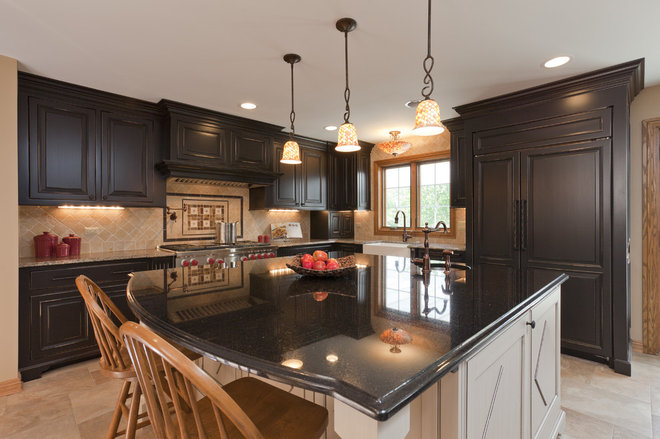 Rustic Kitchen by Casa by Charleston