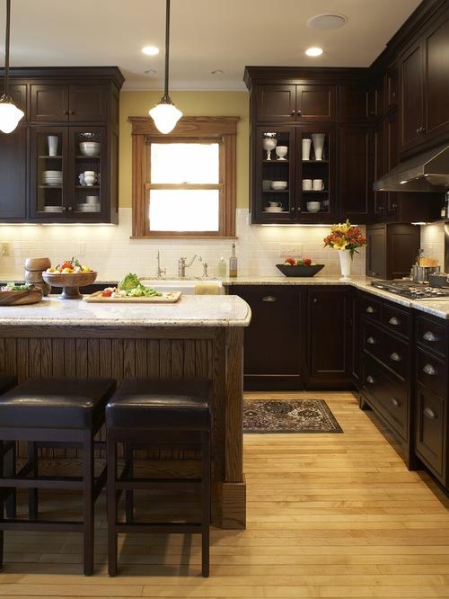 saveemail - Kitchen Photos Dark Cabinets