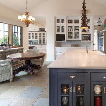 Traditional Kitchen and Pantry