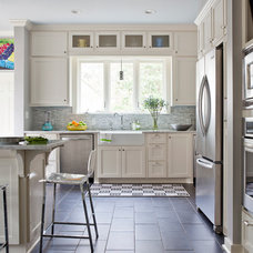 Traditional Kitchen by Andrea Brooks Interiors