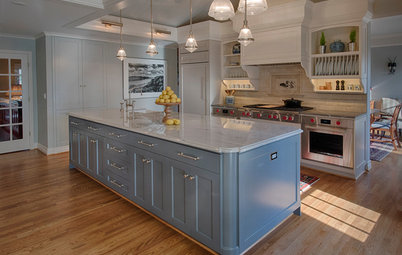 Kitchen of the Week: European-Style Cabinets and a Better Flow