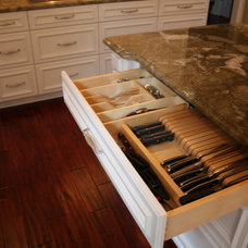 traditional cabinet and drawer organizers by Architectural Justice