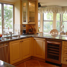 Traditional Kitchen by David Melamed of Best Buy Cabinets