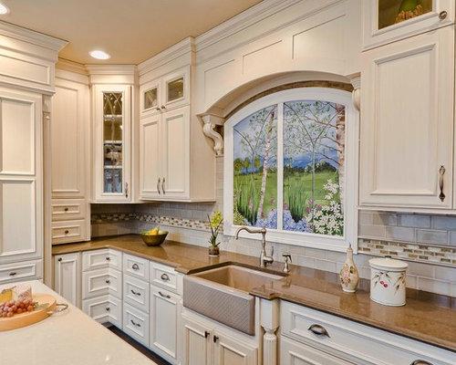 Cabinet Wraps Corner Kitchen Design Ideas Renovations