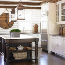 Traditional Kitchen by Bradley E Heppner Architecture, LLC