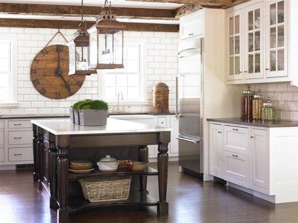Traditional Kitchen by Bradley E Heppner Architecture, LLC