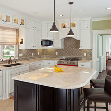 Traditional Kitchen by Brickhouse Construction, LLC