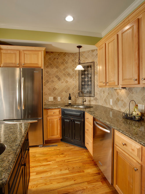 Black Maple Cabinets Home Design Ideas, Pictures, Remodel and Decor