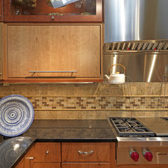 eclectic kitchen by Case Design/Remodeling, Inc.