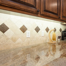Traditional Kitchen by Choice Granite + Remodeling