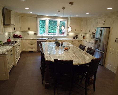 Brown Fantasy Granite Home Design Ideas, Pictures, Remodel and Decor