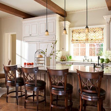 Traditional Kitchen by Denise McGaha Interiors