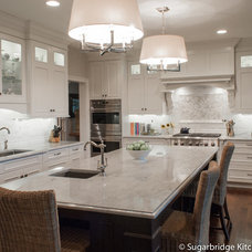 Traditional Kitchen by Sugarbridge Kitchen & Bath Design, LLC