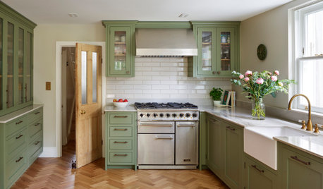 24 Ideas for Sage-coloured Kitchens