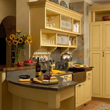 Traditional Kitchen Designed in Washington, DC