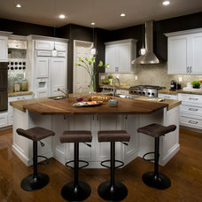 Traditional Kitchen by DeWils Custom Cabinetry